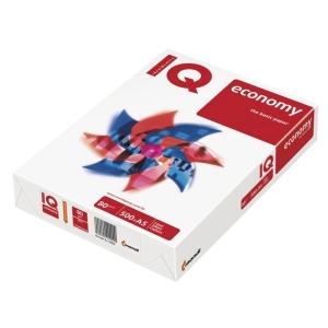 IQ Economy Büropapier weiß, Format A5, 80 g/m², Packung mit 500 Blatt