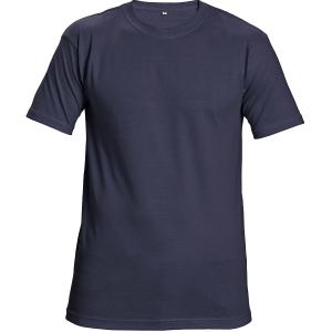 T-Shirt kurzarm, Baumwolle, Größe M, marineblau