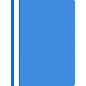 Schnellhefter nicht gelocht PP A4, hellblau, 25 Stück