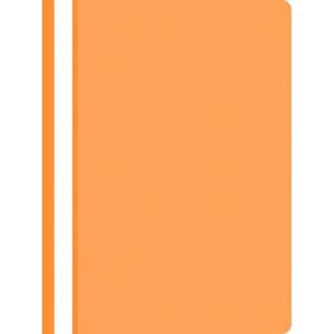 Schnellhefter nicht gelocht PP A4, orange, 25 Stück