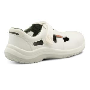 OMEGA LUX S1 Sandalen mit Klettverschluss, Größe 41, weiß