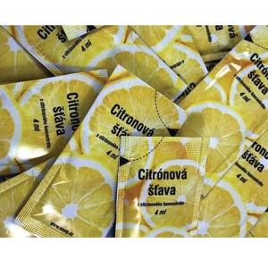 Zitronensaft 4 ml, 200 Stück