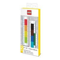 Pravítko Lego 2v1 - 30cm a 15cm
