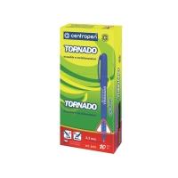 Pero Centropen 2675/10 Tornado, mix farieb, modrý atrament