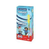 Pero Centropen 2675/10 Tornado blue, mix farieb, modrý atrament