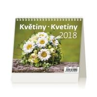 Kvetiny - české/slovenské týždenné riadkové kalendárium, 56 + 2 strán