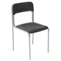 Konferenčná stolička Nowy Styl Cortina Alu, čierna