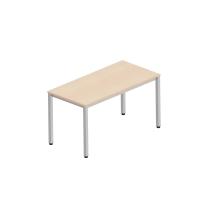 Pracovný stôl Nowy Styl Easy Space, 4 nohy, 140 x 70 cm, javor