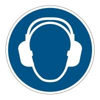 Bezpečnostné značenie na podlahu DURABLE Príkaz na ochranu sluchu