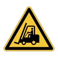 Bezpečnostné značenie na podlahu DURABLE Pozor! Vysokozdvižné vozíky