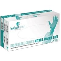 Jednorazové nitrilové rukavice Innfinitt Touch, nepudrované, veľkosť L, 100 ks
