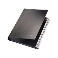 Triediaca kniha A - Z s registrom PP fólia Leitz A4 čierna