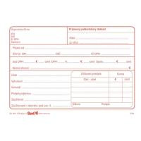Príjmový pokladničný doklad s DPH A6 (samoprepis), Ševt 309017, blok, 100 listov