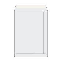 Tašky jednoduché biele recykl. C4 (229 x 324 mm), 250 kusov/balenie