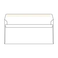 Obálky samolepiace biele DL (110 x 220 mm), 1000 ks/balenie