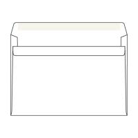 Obálky samolepiace biele C5 (162 x 229 mm), 50 kusov/balenie
