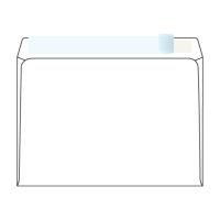 Obálky samolepiace s krycou páskou biele C5 (162 x 229 mm), 50 kusov/balenie