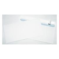 Obálky samolepiace s krycou páskou biele C6/5 (114 x 229 mm), 50 ks/balenie