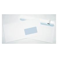 Obálky samolepiace s krycou páskou C6/5 (114 x 229 mm), okno vpravo, 50 ks/bal