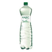 Pramenitá voda Rajec jemne sýtená 1,5 l, balenie 6 kusov