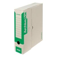 Archivačné prenosné krabice Emba 33 x 26 x 7,5 cm zelené, balenie 25 kusov