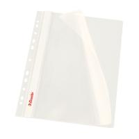 Závesný prezentačný rýchloviazač PP Esselte biely, balenie 10 kusov