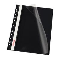 Závesný prezentačný rýchloviazač PP Esselte čierny, balenie 10 kusov