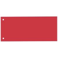 Rozdeľovače 1/3 (100 x 240 mm) Bene červené, balenie 100 kusov