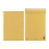Obálky hnedé bublinkové Herlitz (290 x 445 mm), 10 kusov/balenie