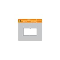 Cenové etikety, 22 x 12 mm, 1250 etikiet/kotúč, 48 kotúčov/balenie