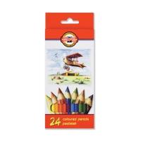 Ceruzky farebné Koh-i-noor, 24 kusov/balenie