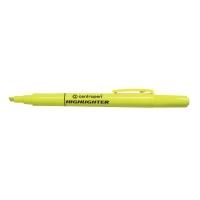 Zvýrazňovače Centropen Ergo 8722, žltý