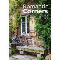Romantic Corners - mesačné medzinárodné kalendárium, 14 listov, 31,5 x 45 cm
