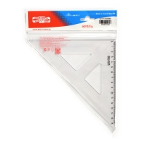 Pravouhlý trojuholník s kolmicou Koh-i-noor 16 cm