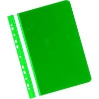 Závesný prezentačný rýchloviazač PVC Herlitz zelený, balenie 20 kusov