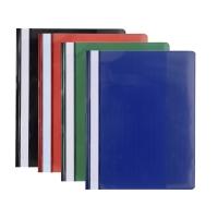 Nezávesný prezentačný rýchloviazač PP Exacompta mix farieb, balenie 20 kusov