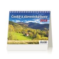 České a slovenské hory - české/slovenské týždenné riadkové kalendárium