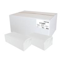 Skladané ZZ utierky PrimaSoft biele, 20 balení po 250 kusov