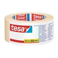 Krepová maskovacia lepiaca páska Tesa 50 mm x 50 m