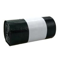 Vrecia na odpadky Alufix 60 l, čierne, nezaťahovacie, 20 kusov