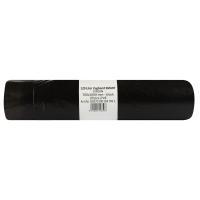 Vrecia na odpadky Alufix 120 l, čierne, zaťahovacie, 20 kusov