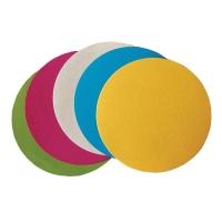 Moderačné karty okrúhle 9,5 cm, mix farieb, 250 ks