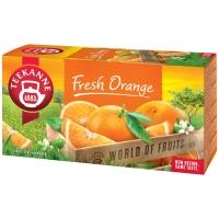 Porciovaný čaj Teekanne Fresh Orange, 20 vrecúšok à 2,25 g