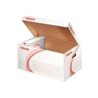 Archivačná krabica s vrchnákom Esselte 54 x 26 x 36,5 cm biela, balenie 10 kusov