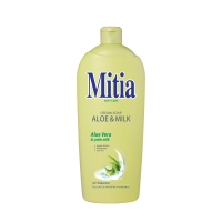 Tekuté mydlo Mitia Aloe and milk - náplň 1 l