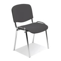 Konferenčná stolička Iso Chrome antracitová
