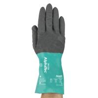 ANSELL 58-270 ALPHATEC Nitrilové rukavice, veľkosť 8, šedá/zelená