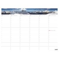 Týždenná plánovacia mapa A2 s fotografiou, 30 strán, 63 x 48 cm