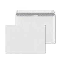 Obálky samolepiace s krycou páskou biele C5 (162 x 229 mm), 500 kusov/balenie