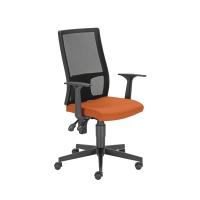 Kancelárska stolička Fillo, oranžová